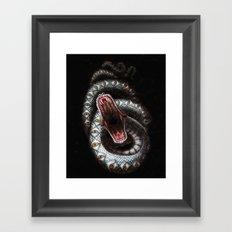 Vision Serpent Framed Art Print