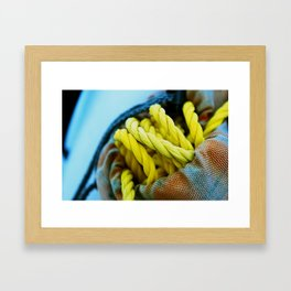 Roped In Framed Art Print