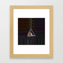 Bubble Tetra Framed Art Print