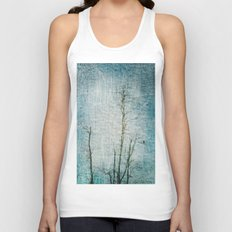 Minimalism ~ Perched Unisex Tank Top