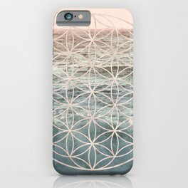 Mandala Flower of Life Sea iPhone Case