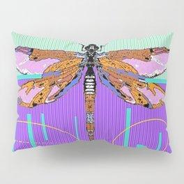 Dragonfly Dream Weaver in Aqua & Lilac Pillow Sham