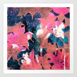 Cotton Candy Garden Art Print