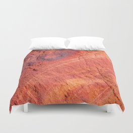 Natural Sandstone Art - Valley of Fire Duvet Cover
