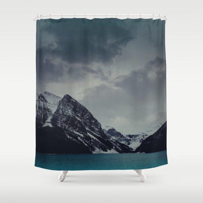 Lake Louise Winter Landscape Shower Curtain
