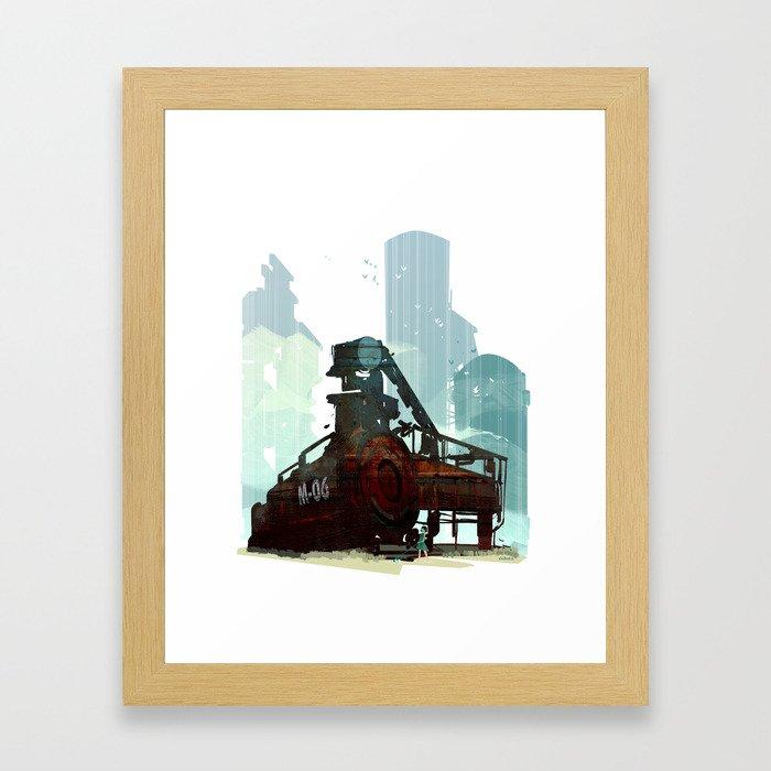 Forgotten Fuels Framed Art Print
