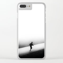A Run in the Park Clear iPhone Case