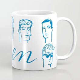 Men (are not all the same) Coffee Mug