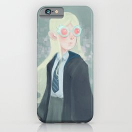 Luna Lovegood and her Spectrespecs iPhone Case