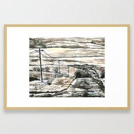 Flint Hills Framed Art Print