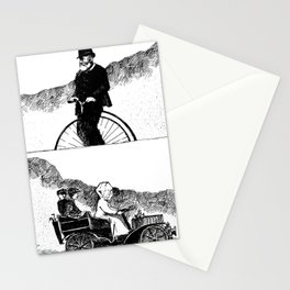 Bike And Pool It Stationery Cards