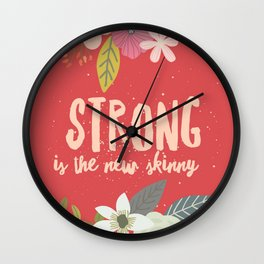 Strong is the NEW Shinny Wall Clock