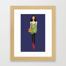 Fashion Drawing Series 4, Pinales Illustrated Framed Art Print