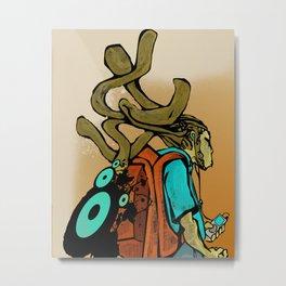 Dredd DJ Metal Print