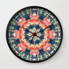 Mandalas from the Heart of Change 16 Wall Clock