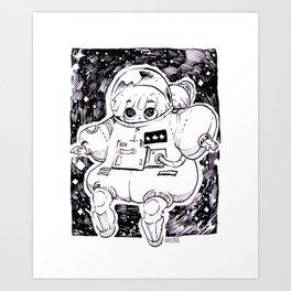 Astronaute Art Print