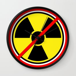 Against Atom Wall Clock