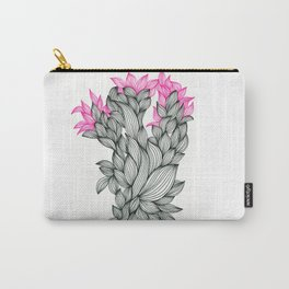 Black and Pink Carry-All Pouch