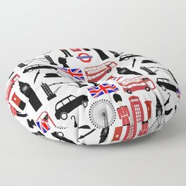 London Floor Pillow