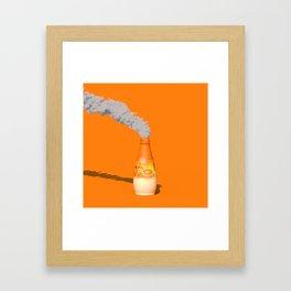 CO2 Saft Framed Art Print