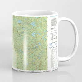 MN Ely 508775 1994 topographic map Coffee Mug