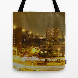 New York Skyline 2 Tote Bag