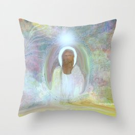 Be At Peace by Sherri Of Palm Springs Throw Pillow