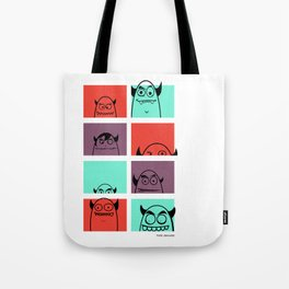The Shady Bunch Tote Bag