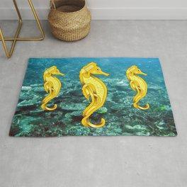 Seahorses Rug