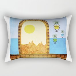 House Plants 4 Rectangular Pillow