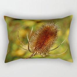 Thistle in Autum Rectangular Pillow