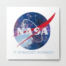nasa rocket science Metal Print