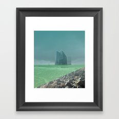 atmosphere 4 · Future comes Framed Art Print