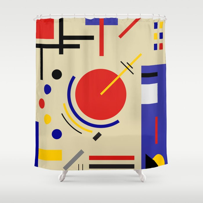 BAUHAUS ASTRONOMY Shower Curtain