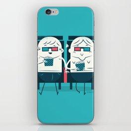 :::Cinema Couple::: iPhone Skin