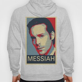 Baltar 'Messiah' design. Inspired by Battlestar Galactica. Hoody