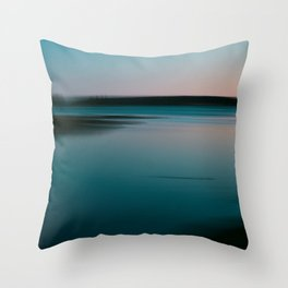 Summer of Love by the Sea III Throw Pillow