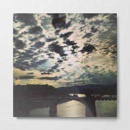 Chattanooga Clouds Metal Print