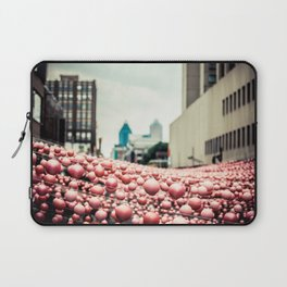 Pink In The Village Laptop Sleeve