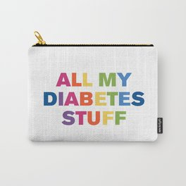 All My Diabetes Stuff (Multi) Carry-All Pouch
