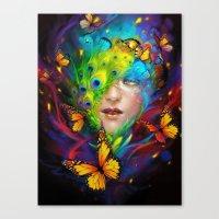 alchemy Canvas Prints featuring Alchemy by Lena Richards