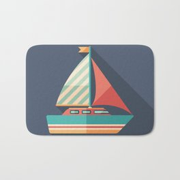 Sailing Yacht Bath Mat