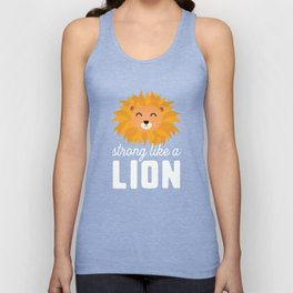Strong like a lion T-Shirt for all Ages Ds50i Unisex Tank Top