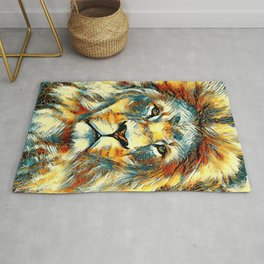 AnimalArt_Lion_20171004_by_JAMColorsSpecial Rug
