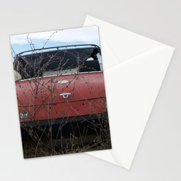 Beat Up Car Stationery Cards