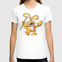 Easter Bunny Painting an Egg T-shirt