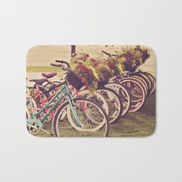 Beach Cruisers Bath Mat
