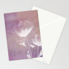 SATIN FLORAL Stationery Cards