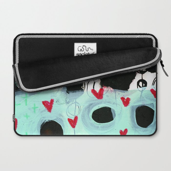 Falling Hearts Laptop Sleeve