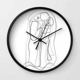The Kiss Print, Best Selling Art Poster, Minimalist Art, Gustav Klimt Poster Print, Minimal Poster, Wall Clock